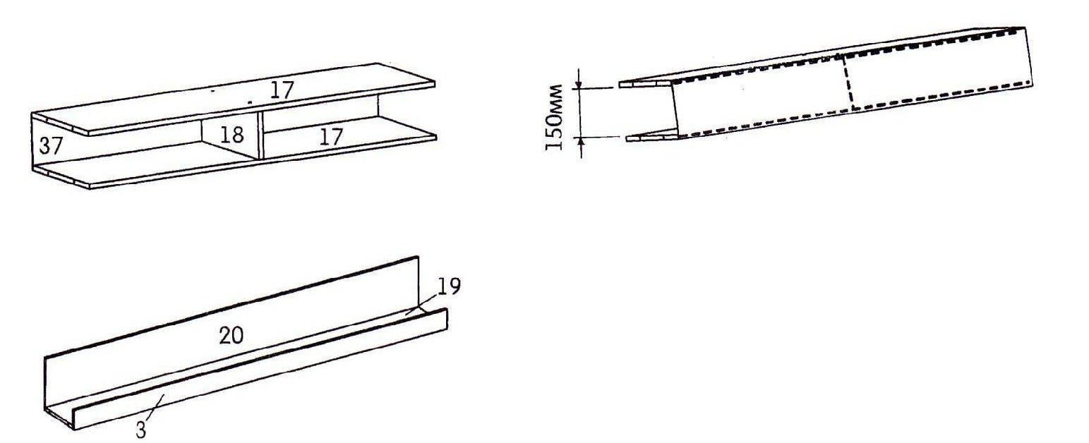 схема сборки стенки Мальта - шаг №6