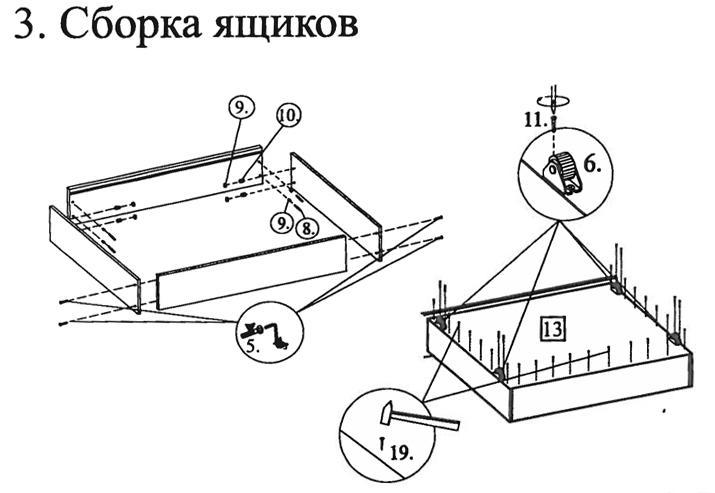 Инструкция по сборке кровати боровичи